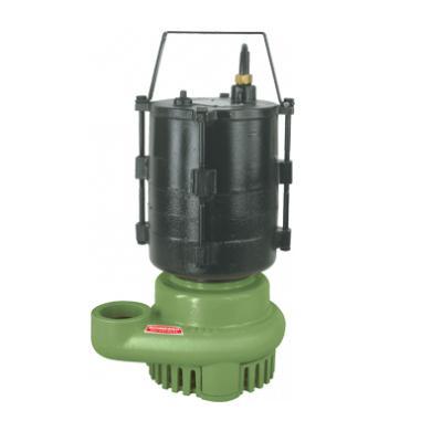 Bomba submersivel para agua suja
