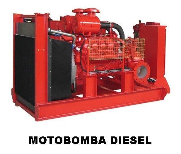 Motobomba a diesel