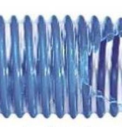 Mangueira Transparente com Espiral Azul para Piscina (KF)