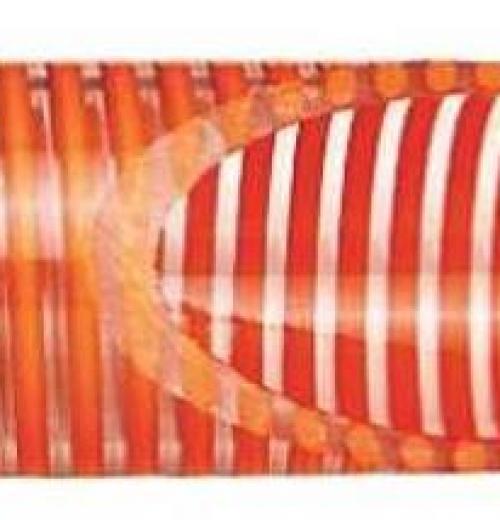 Mangueira Transparente com Espiral Laranja (KP)